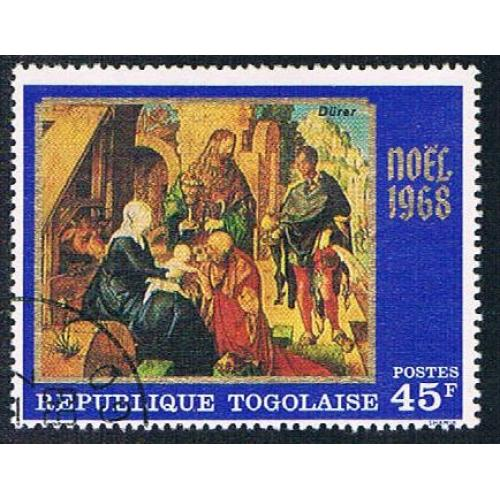 Togo 664 Used Christmas 1968 (BP12211)