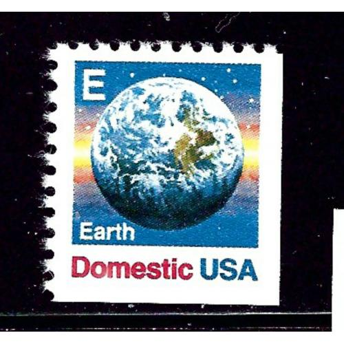U.S. 2232 MNH 1988 Earth from booklet pane