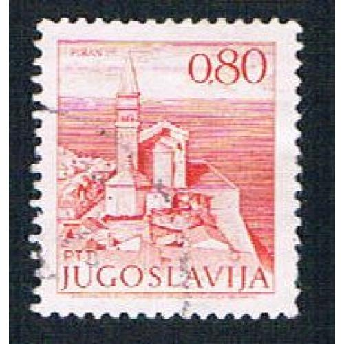 Yugoslavia 1073 Used Piran Church (BP16125)