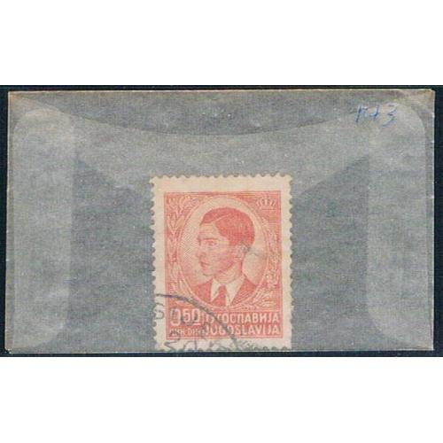 Yugoslavia 143 Used King Peter II 1939 (YB0026)