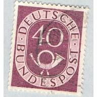 Germany 680 Used Numeral 40 2 1951 (BP59115)