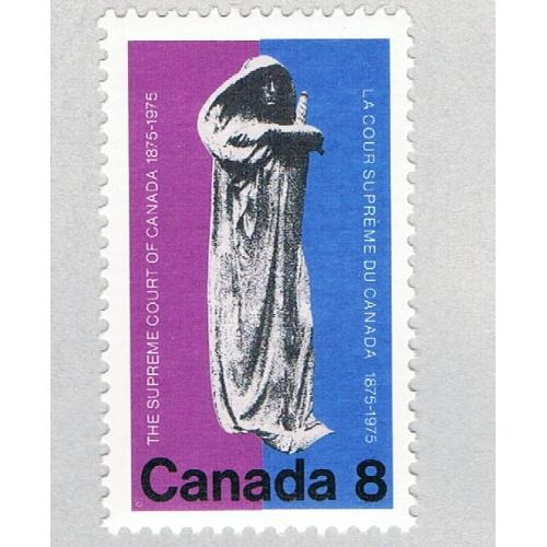 Canada 669 MNH Justice 1 1975 (BP59405)