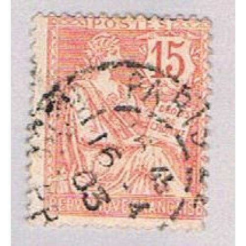 France 134 Used Rights of Man 2 1902 (BP55317)