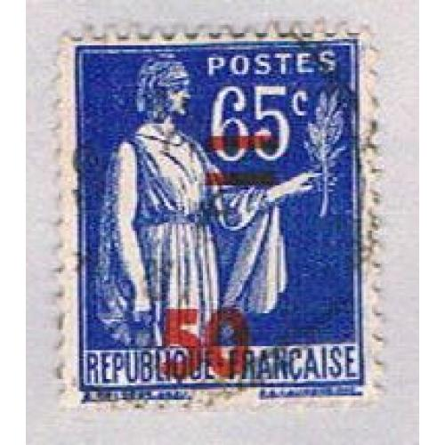 France 402 Used Peace Olive Branch 1940 (BP45336)