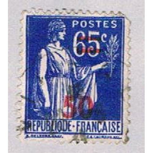 France 402 Used Peace Olive Branch 1940 (BP45339)