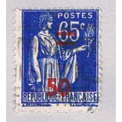 France 402 Used Peace Olive Branch 1940 (BP45340)