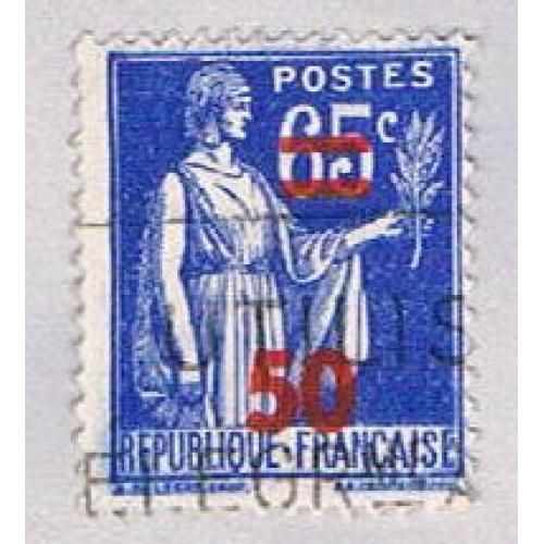 France 402 Used Peace Olive Branch 1940 (BP45341)