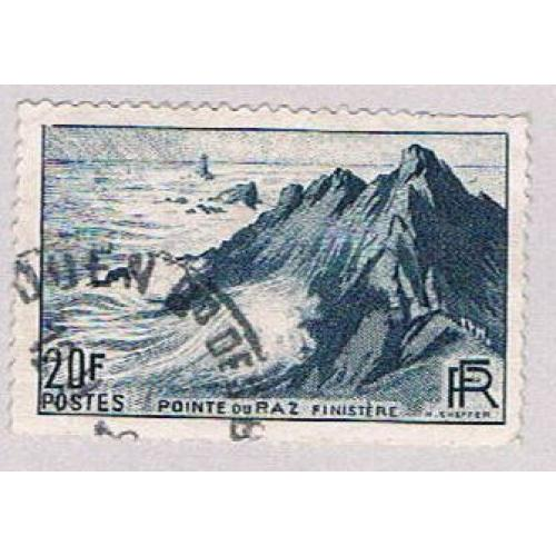 France 571 Used Pointe Du Raz 2 1946 (BP42726)