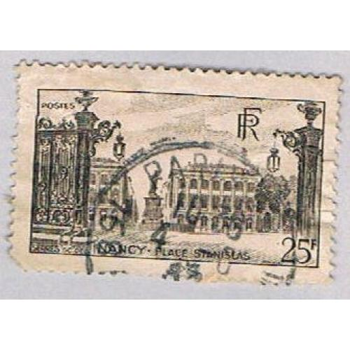 France 574 Used Stanislas Square 1 1946 (BP56622)