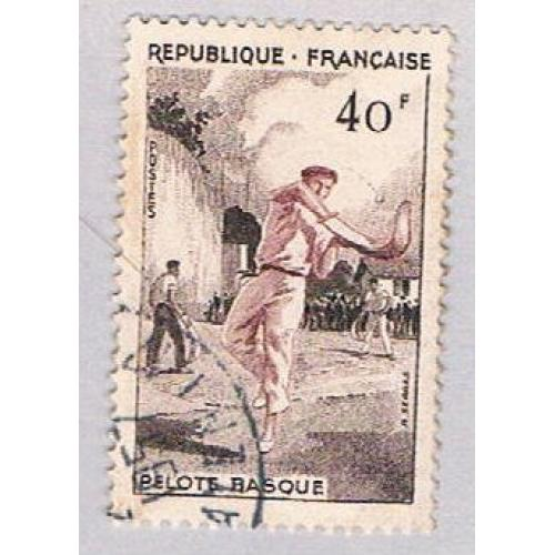 France 803 Used Jai alai 1 1956 (BP55204)