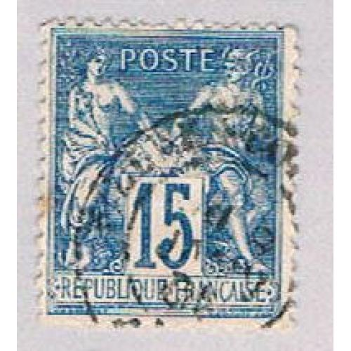 France 92 Used Liberty Equality 1900 (BP43033)