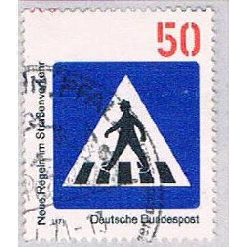 Germany 1058 Used Crosswalk 1971 (BP49730)