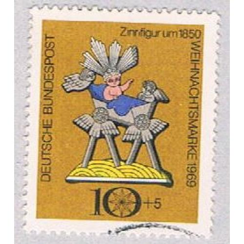 Germany B442 Used Hobby Horse 1969 (BP49626)