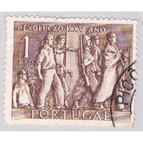 Portugal 737 Used Students soldiers and workers 1951 (BP39805)