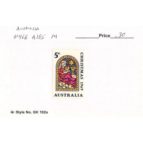 Australia 466 Unused Christmas 1969 (SC0_537)