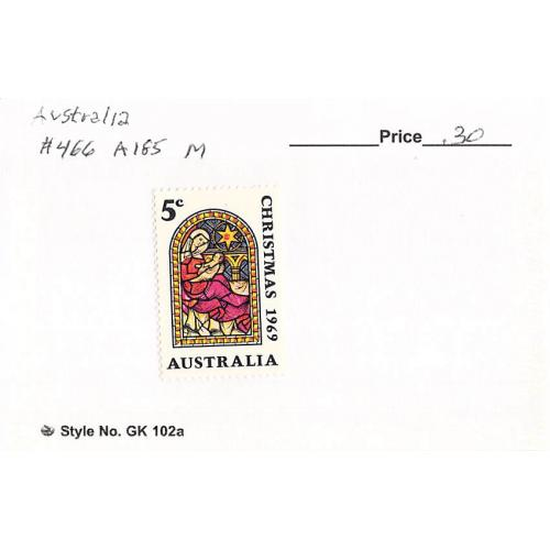 Australia 466 Unused Christmas 1 1969 (SC0_538)