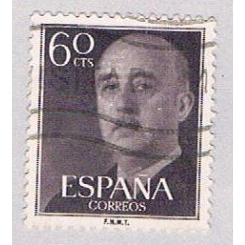 Spain 822 Used Franco 1954 (BP42902)