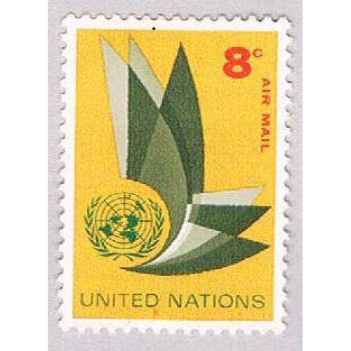 United Nations NY C9 MLH UN Emblem 1963 (BP48913)