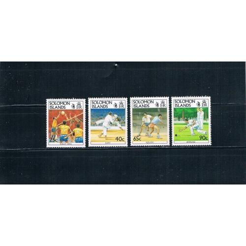 Solomon Islands 694-697 MNH Sports Cat Val 9.25 (S0034)