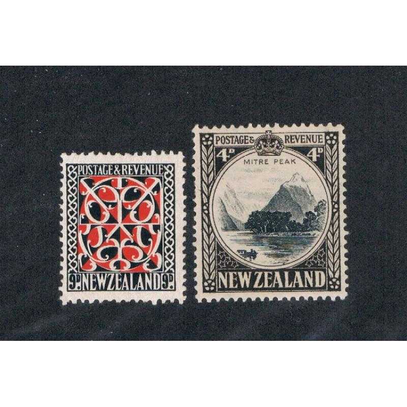 New Zealand 209;213a MH Cat Val 32.00 (N0038)