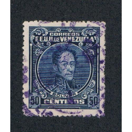 Venezuela 280a Perf 14 Used Cat Val 14.00 (V0104)