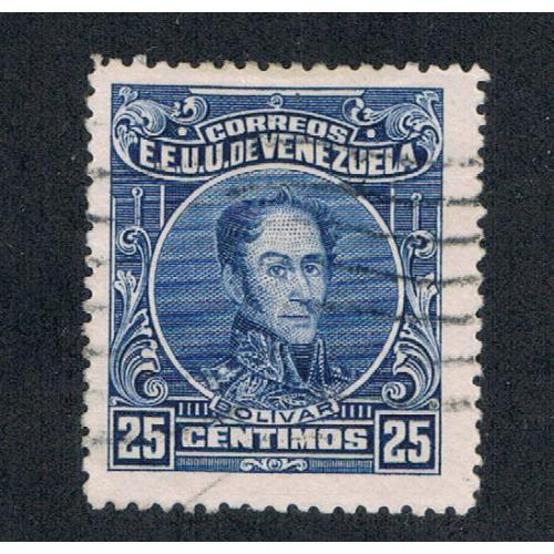Venezuela 276a Perf 14 Used Cat Val 4.75 (V0107)