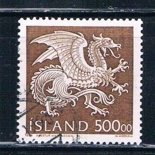 Iceland 677 Used Dragon CV 8.50 (I677d)