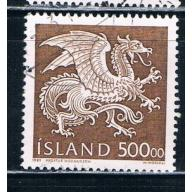 Iceland 677 Used Dragon CV 8.50 (I677f)