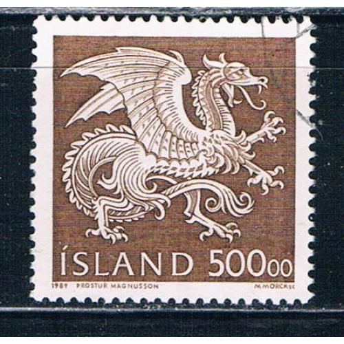 Iceland 677 Used Dragon CV 8.50 (I677g)