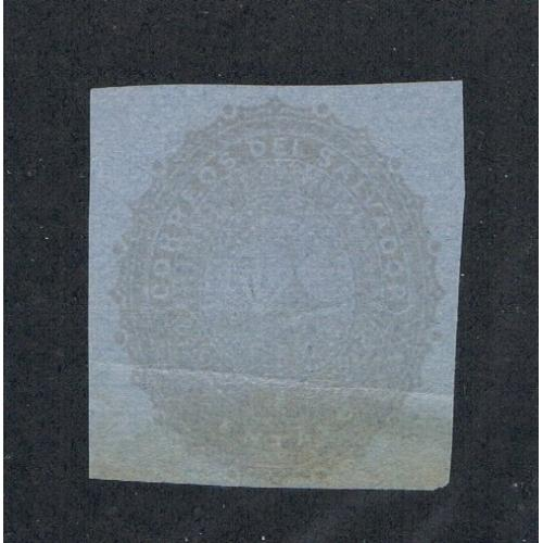 Salvador Unused Cut Square from 1891 (S0183)