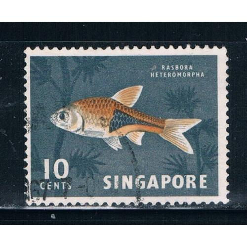 Singapore  57 Used Tropical Fish (S0271)