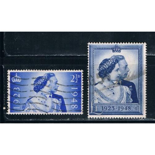 Great Britain 267-68 Used CV 40.25 (G0031)