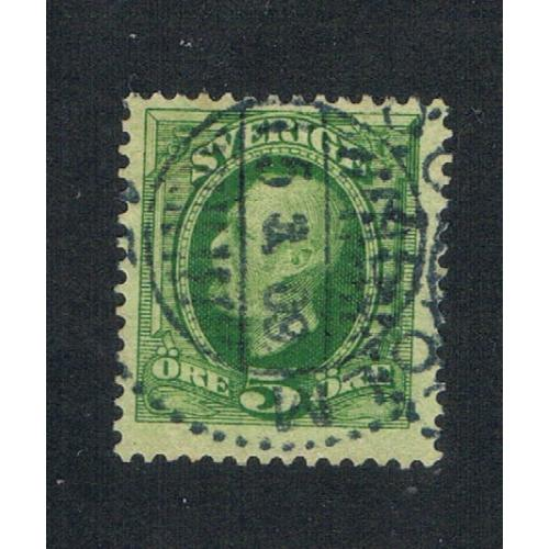 Sweden 56 Used King Oscar II (S0438)